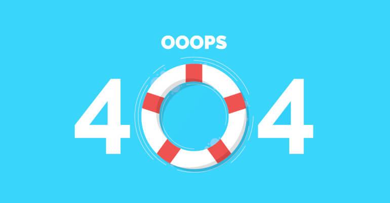 Milyen legyen egy webáruház 404-es hibaoldala?