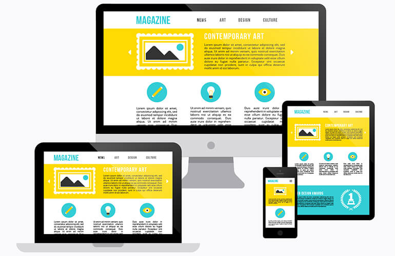 Egy modern weboldal ergonómiája
